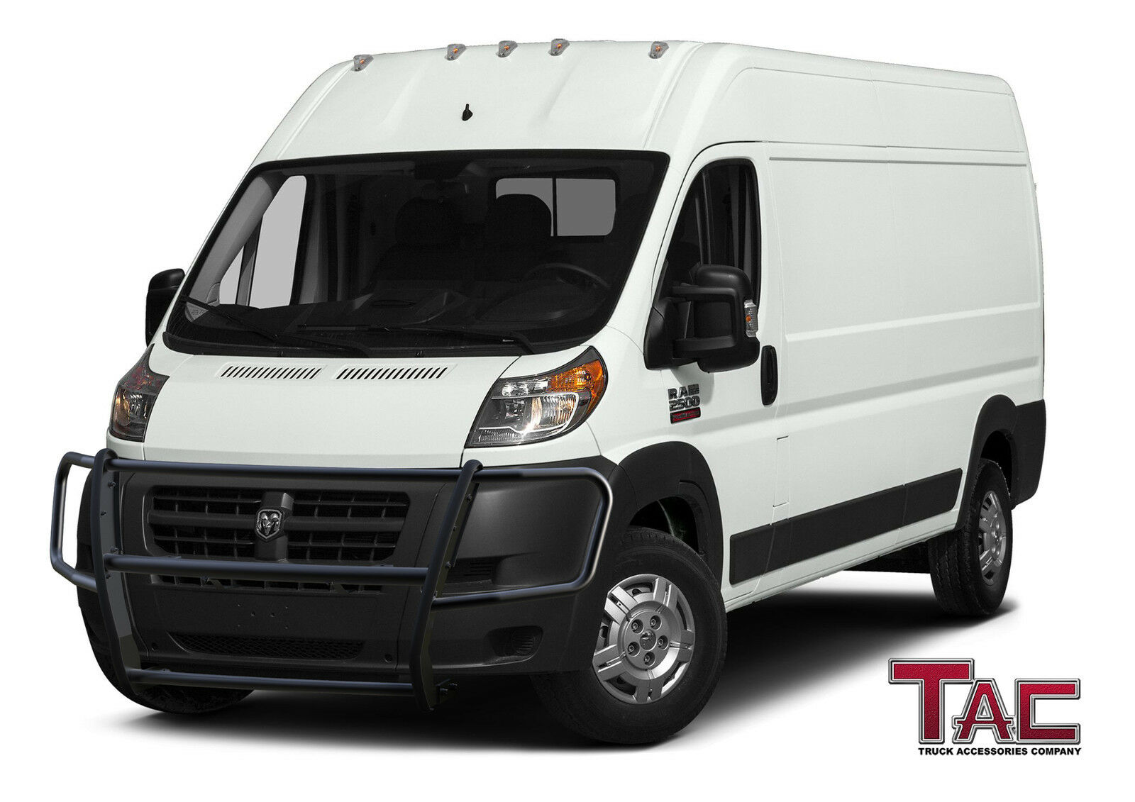 Full Size Van >> Details About Tac Fit 14 18 Dodge Ram Promaster Van Full Size Front Bumper Grill Guard Black