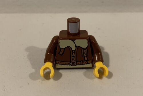 Lego Minifigura Piloto Aviador Jaqueta X 6 Lote de construir um Figo