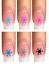 Indexbild 6 - Nail Tattoo Nail Art Schneeflocken Eiskristalle Winter Weihnachten + Glitter