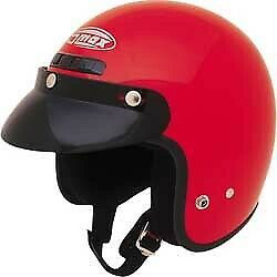 GMAX GM2 Open Face Solid Helmet Adult 3//4 Motorcycle ATV