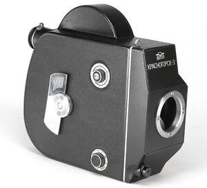 KRASNOGORSK-3 16mm film M42 screw mount Movie Cine Camera Body SLR Zenit 70s 80s