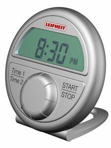 Leifheit-Kurzzeitmesser-Proline-Digital-Eieruhr-Uhr-Zaehler-Kunststoff-21351