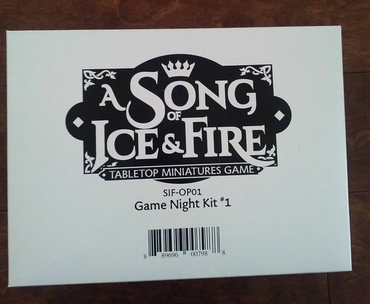A Song of Fire and Ice Game Night Kit Event Promo OP CMON