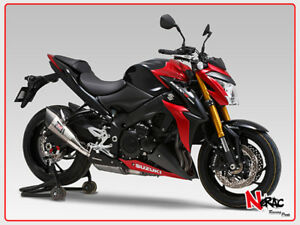 yoshimura exhaust titanium slip on r 11 suzuki gsx s 1000. Black Bedroom Furniture Sets. Home Design Ideas