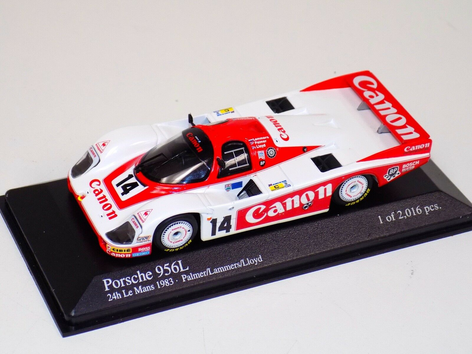 Minichamps Porsche 956L 24 H of LeMans 1983 Lammers Palmer Lloyd