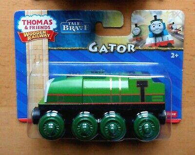 LOCOMOTIVA IN LEGNO wooden railway GATOR THOMAS /& FRIENDS