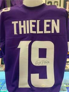 Details about Adam Thielen Signed Custom Minnesota Vikings Jersey Auto with COA