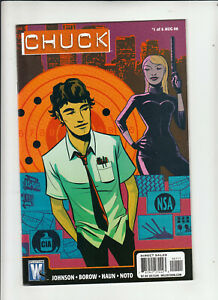 Chuck-1-6-Wildstorm-2008-09-Complete-series-based-on-NBC-TV-show-NM-NM