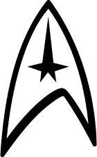 Star Trek Federation Logo, Van, Laptop, Vinyl Decal Sticker