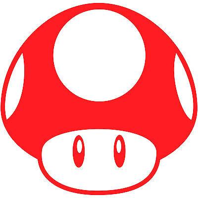 Super Mario Bros Mushroom 12 Vinyl Decal Sticker Car Window Laptop Nintendo Ebay