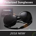 Eyewear Retro Vintage Oversized Women Fashion Designer Polarized Sunglasses