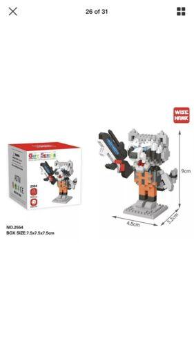 Raccoon Nano Block Lego Marvel Super Heroes Spiderman,deadpool,superman