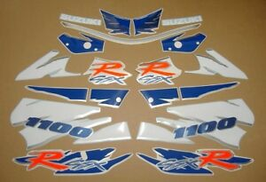 GSX-R-1100W-1995-complete-decals-stickers-graphics-kit-set-adhesives-autocollant