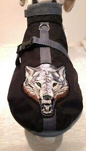 Raincoat Xs S M Harnais pour chien Harnais Tissu hydrofuge tête de loup