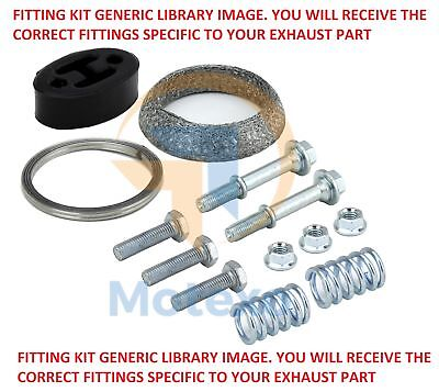 Mts 01.60708 Exhaust Fitting Kit
