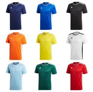 Adidas-Entrada-Garcons-Football-T-Shirt-Enfants-Junior-Jersey-Training-Sport-Tee-Top