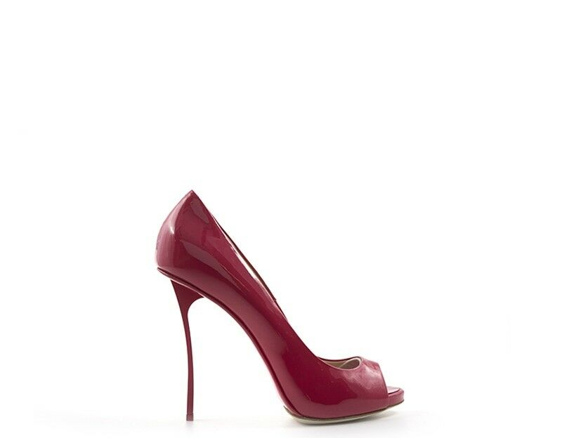 Women shoes Gianni renzi red varnished, natural leather gl002a-s