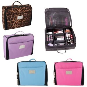 half off dfc77 e5079 Details about Ultimate Cosmetic Organizer Case by Lori Greiner - Pink,  Blue, Purple, Leopard