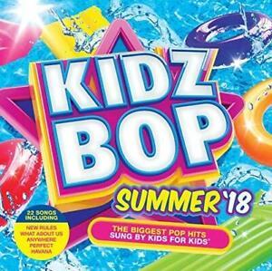 KIDZ-BOP-Summer-039-18-2018-22-track-CD-NEW-SEALED-Havana-New-Rules-Mama