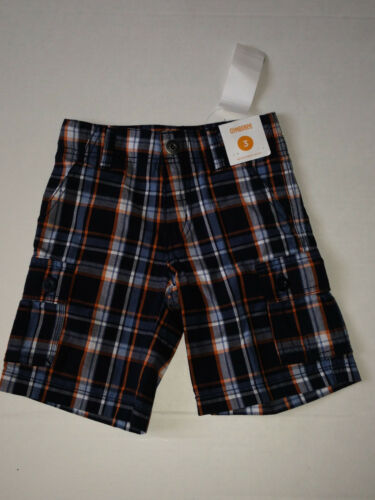 Gymboree SHARK ALERT Basics Boys size 3 Plaid Summer Shorts NWT U Pick