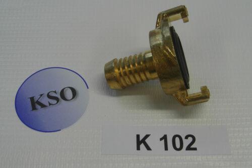 Schlauchkupplung Schlauchverbinder Kupplung Tülle Messing wie System GEKA  Plus
