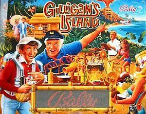 GILLIGAN'S ISLAND CORVETTE DIRT HARRY NO FEAR WCS Pinball Cabinet light mod BLUE