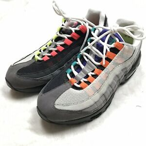 778075e37b Nike Air Max 95 OG QS Greedy Black Volt Safety Orange Size 7.5 ...