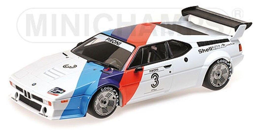 125792903 Minichamps 1 12 BMW M1 Motorsport Didier Pironi proker 1979