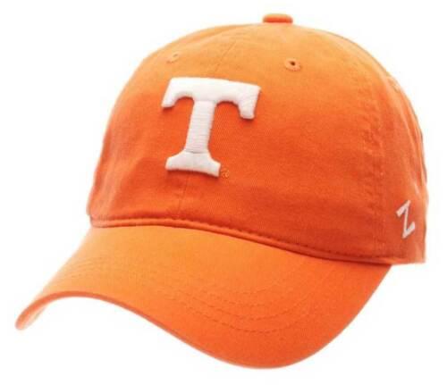 "Zephyr Tennessee Knoxville /""T/"" Hat Cap NCAA College Slide Buckle Back Orange"