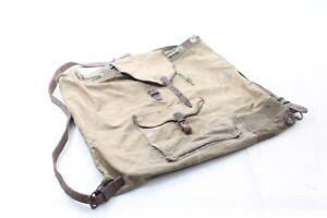 Rucksäcke Herzhaft Alter Wanderrucksack Rucksack Stoff Tasche Wanderer Bergsteiger Old Vintage Reisekoffer & -taschen