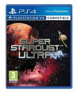 Super-Stardust-Ultra-VR-ps4-Spiel-sehr-guter-Zustand