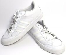 best service 3f040 db5ad Adidas Mens Size 12.5 Vintage Americana White Leather Sneaker Shoe
