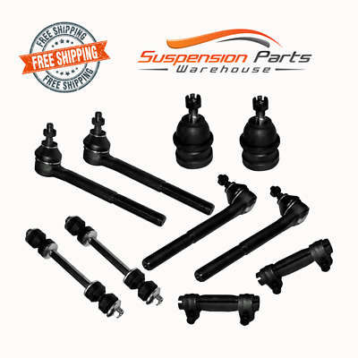 Front Suspension Sway Bar Lower Ball Joint Tie Rods For RWD GMC Jimmy Sonoma
