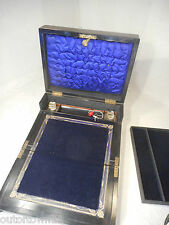 Antique Coromandel Writing Slope  Box ,   ref 2295
