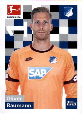 Bescheiden Topps Bundesliga 2018/2019 - Sticker 125 - Oliver Baumann Geschickte Herstellung