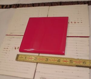 Glossy Ceramic Tiles Bullnose Ruby Red By American Olean - Best prices on ceramic tile