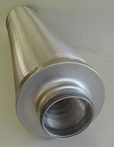 Téléphonie Silencieux Tuyau Ventilation Ronde Avec lèvres d/'étanchéité ltsdr-LD NW 125 mm