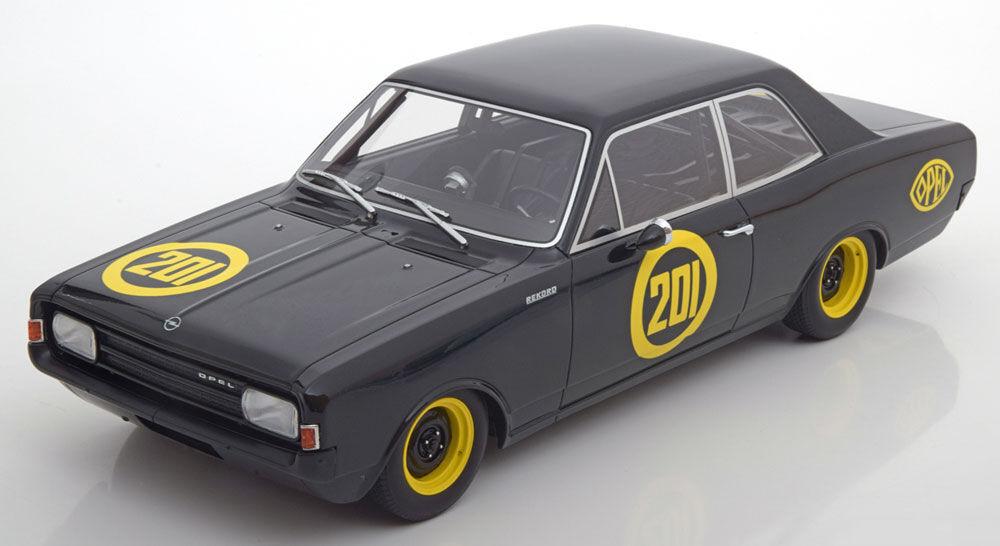 Opel Rekord C 201 Noir Witwe 1967 par Bos Modèles le de 1000 1 18 Échelle