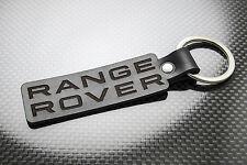 RANGE ROVER Leather Keyring Keychain Schlüsselring Porte-clés EVOQUE VOGUE SPORT