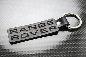 Range-Rover-Cuero-KEYRING-LLAVERO-SCHLUSSELRING-Porte-cles-Evoque-Vogue-Sport