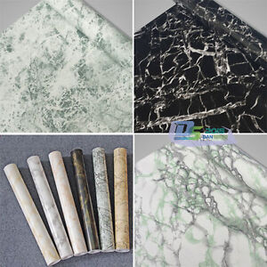 Self Adhesive Marble Wallpaper Vinyl Sticker Film Sticky