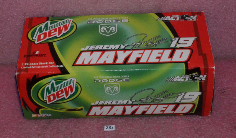 Action 2002 Jeremy Mayfield Mountain Dew Dodge 1 24 Scale.