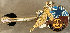 Hard-Rock-Cafe-HOUSTON-2017-Rodeo-Cowgirl-Riding-Horse-GUITAR-PIN-HRC-96565