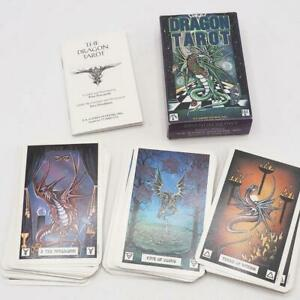 Dragon-Tarot-Peter-Pracownik-1996-Vintage-US-Games