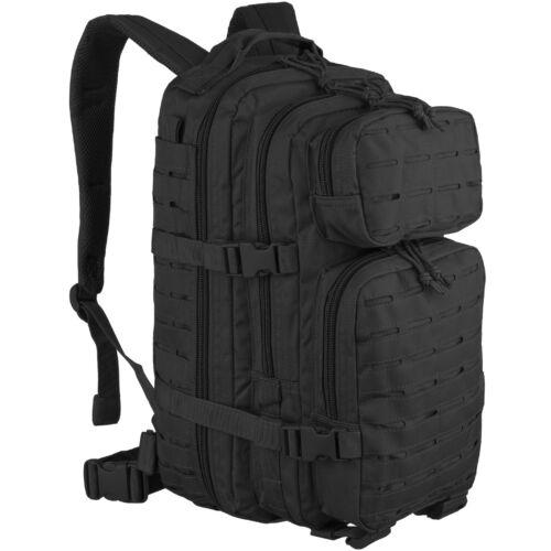 US Assault Pack Tactical MOLLE Rucksack Army Combat Patrol Backpack 20L Black