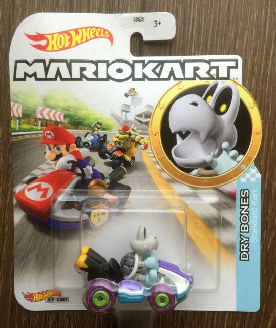 Hot Wheels Mario Kart DRY BONES Brand New 2020