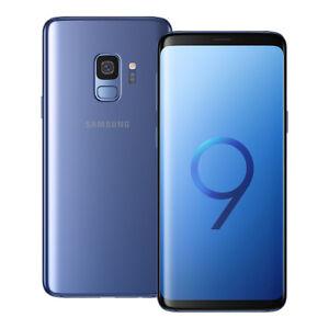 NEUF-Samsung-Galaxy-S9-SM-G960F-DS-5-8-034-64-Go-LTE-Dual-SIM-Debloque-BLEU