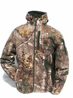 Cabela's Realtree Xtra Waterproof Windproof Scent Factor Habit Hunting Jacket