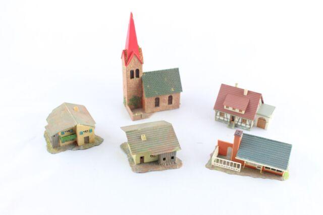 Faller Dorf mit Kirche Spur N
