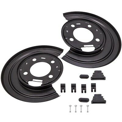 Dust Shields RH PAIR LH Brake Backing Plate Rear